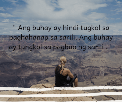 25 Best Inspirational Motivational Quotes Tagalog With Images